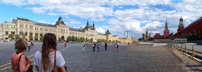 Visite du Kremlin